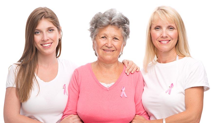 Mujeres de todas las edades que se hacen pruebas ginecológicas